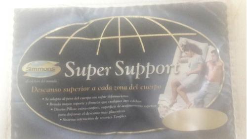 colchon con base queen size, super soport marca simons, urge