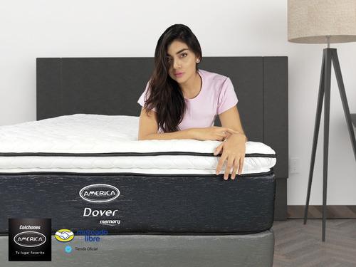 colchón con box con