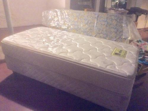 colchon con somier bed time