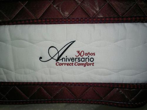 colchon correct confort 200x200 sistema pocket pilow latex