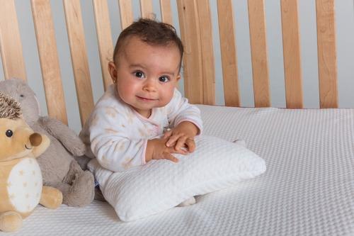 colchón cuna bebé