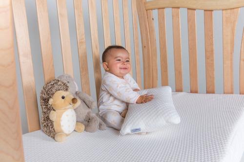 colchón cuna bebé  baby essential memory foam 130 x 70