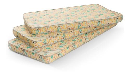 colchón cuna funcional baby belmo 135x75x10 - 23 kg/m3