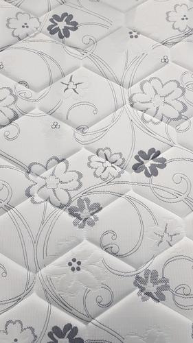 colchón d60 dos 2 plazas espuma alta densidad divino ortopéd