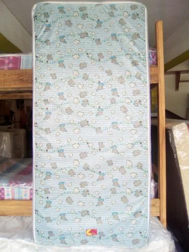 colchón de cama cuna 100%inpermiable