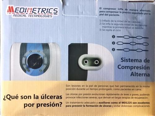 colchón de compresión de aire medimetrics