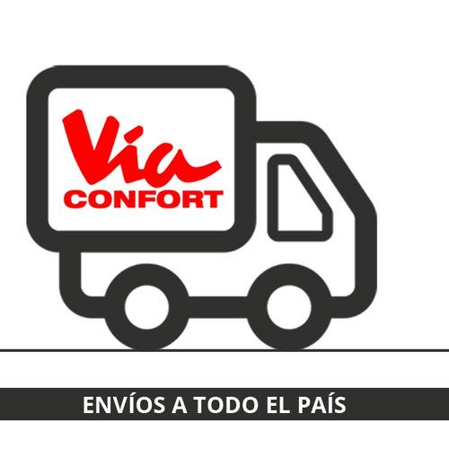 colchón de espuma 2 plazas - via confort