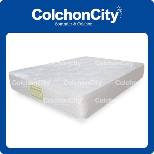 colchon de resortes 140 x 190 promo modelo mystic - city