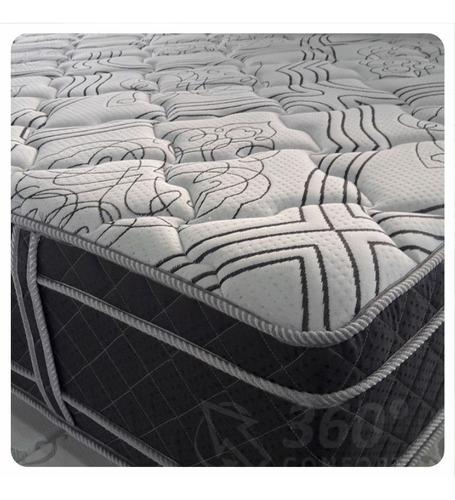 colchón deseo coral - 2 plazas 140x190x33