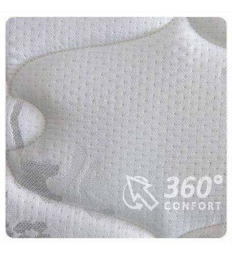 colchón deseo diamante - king size 200x200x30