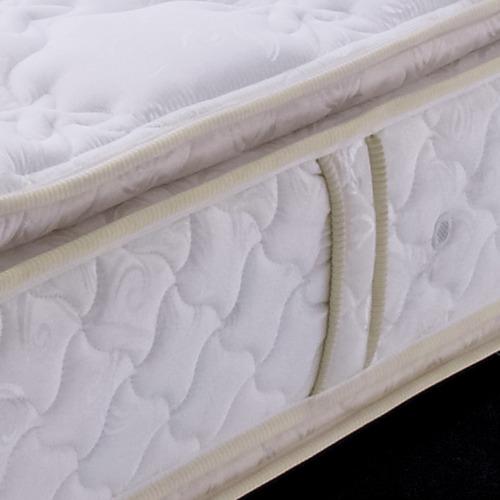 colchón doble cara y doble pillow ilona 1.60+basecama+ envío