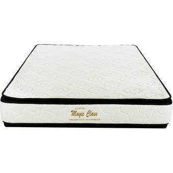 Colchón Ortopédico Resortado 90x190 Doble Pillow Colchones M
