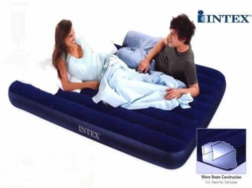 colchón doble intex