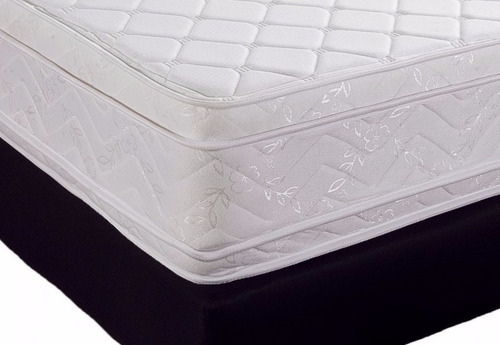 colchón  doble pillow top+regalo base cama