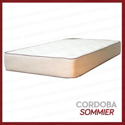 colchón dorado 90 x 190 cm. flexigom