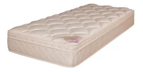 colchon dorado pillow 1 plaza 1/2 belmo 100x190x26 -33 kg/m3