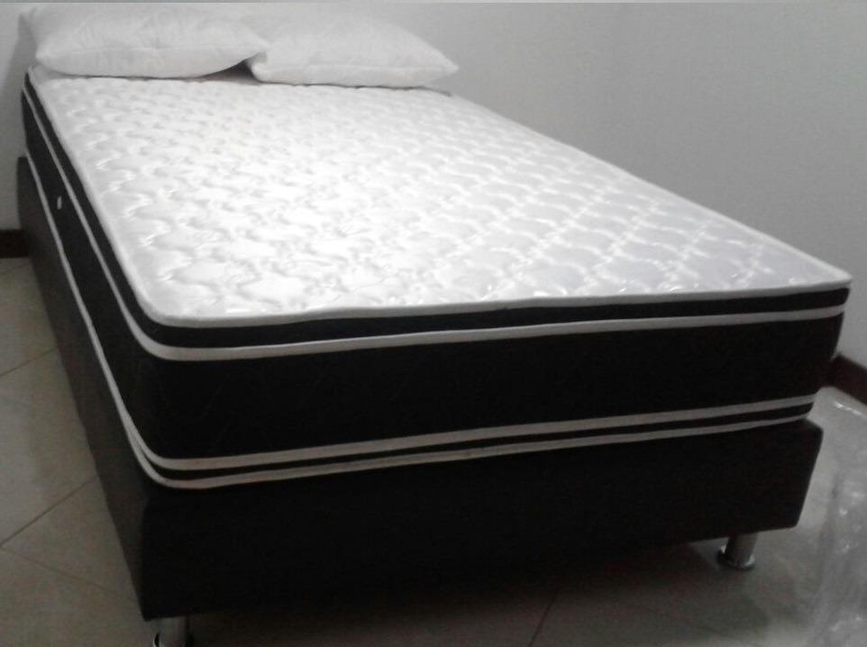 4a95a465776 Colchon Ecopillow Resortado+obsequio Base Cama 1.20x1.90 -   550.000 ...