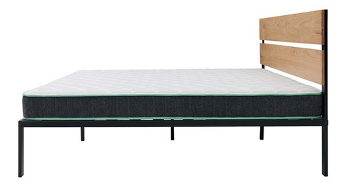 colchón en caja nooz essential, matrimonial - alto: 15cm