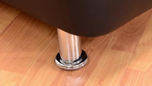 colchón espuma litium 100x190 + base + protector  + almohada