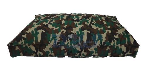 colchón estamp antidesgarro 1.10x70x12 para mascotas perros
