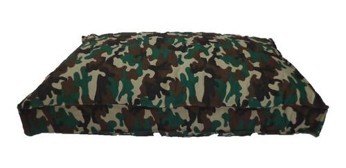 colchón estampado antidesgarro 70x50x8 para mascotas perros