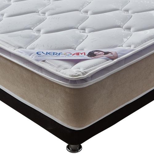 colchón everfoam silver dream 120*190 standart + base cama