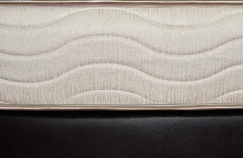 colchon fantasia marfil restek 120x190 cm resortado