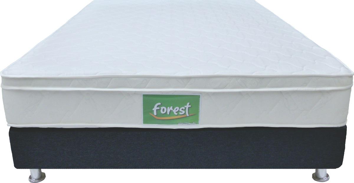 Colchon Forest Onetop+ Base Cama Entera- 120 X 190 Semidoble ...