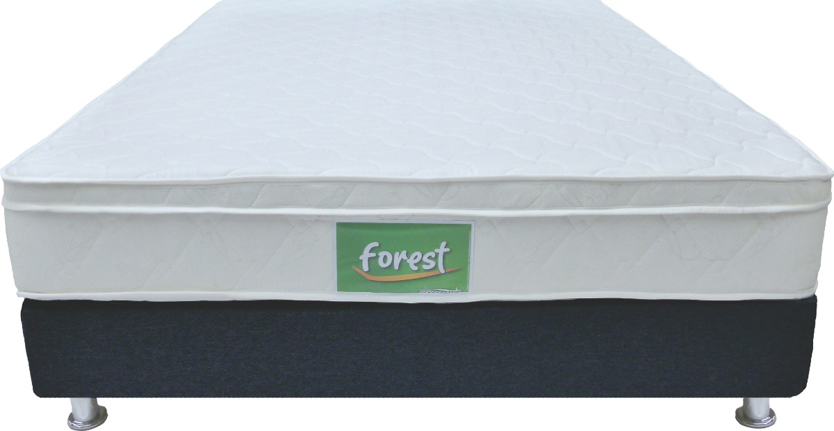 Colchon Forest Onetop+ Base Cama Entera - 140 X 190 Doble ...