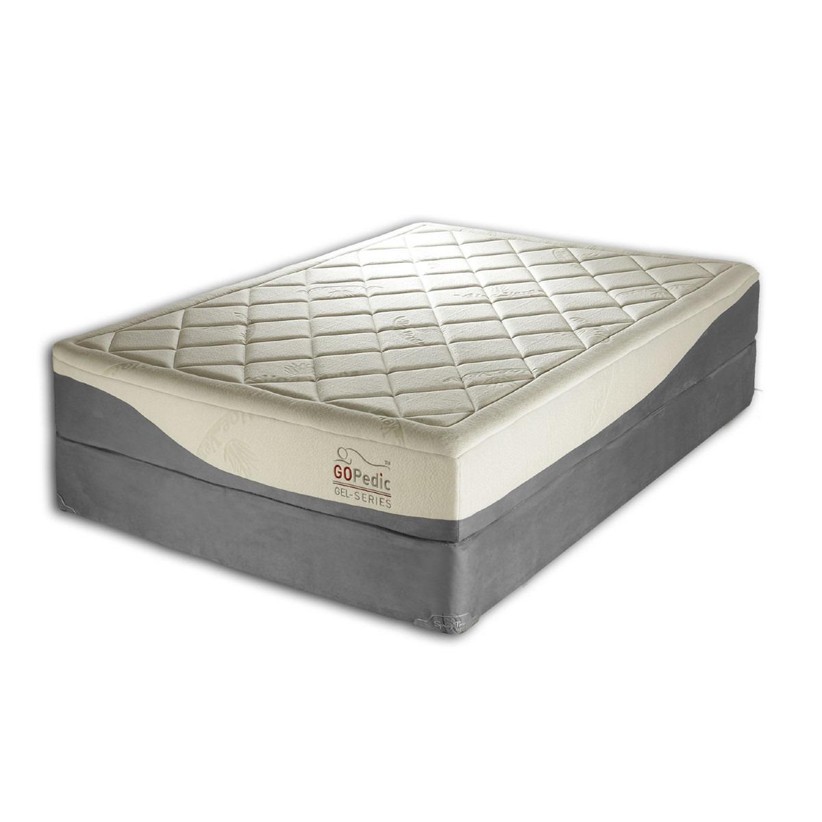 Colchon individual memory foam con gel ortopedico memoria 10 en mercado libre - Precios de colchones hinchables ...