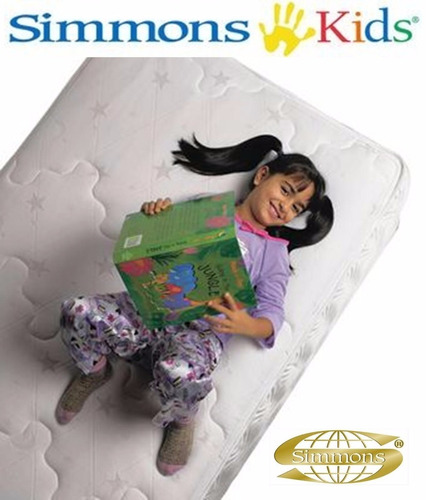 colchón individual simmons kids 70x130 cuna original nuevos