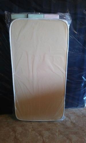 colchón infantil de cuna 120x60x11 marca taurus matelaseado
