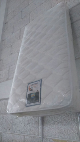 colchón infantil de cuna carreiro 60 x 1.20 tela jacquard