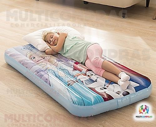 colchón infantil inflable para niños barato frozen piscina