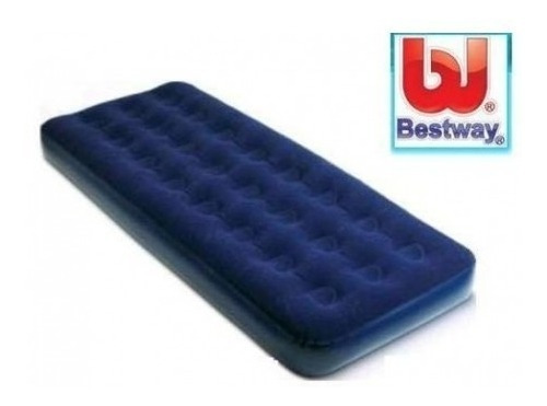 colchon inflable 1 plaza bestway