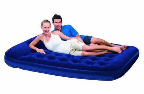 colchon inflable 21/2 plazas bestway camping inflador carpa