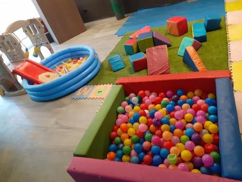 colchón inflable alquiler baby gym sonido sillas festejos