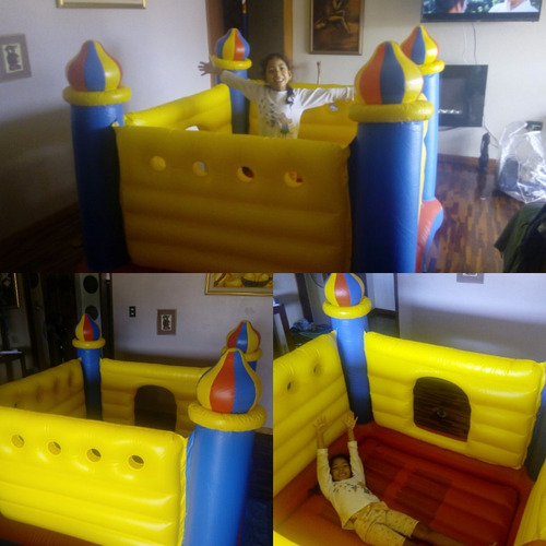 colchón inflable baby gym