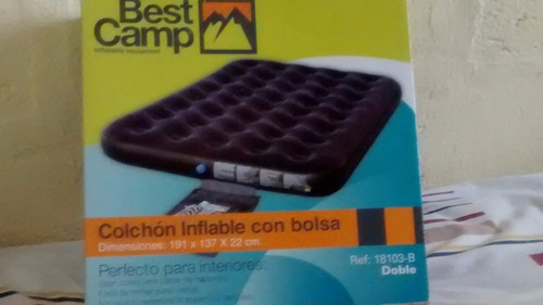 colchon inflable best camp