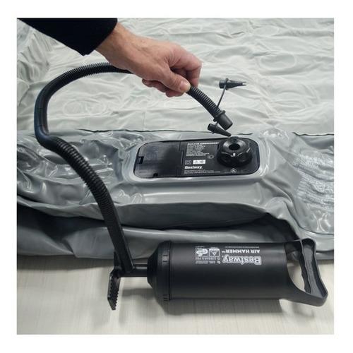 colchon inflable bestway 2 dos plazas inflador electrico