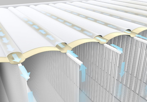 colchón inflable eléctrico intex 2 plazas blue  // bamo