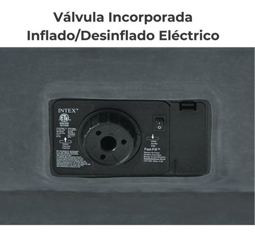 colchón inflable eléctrico intex 2 plazas premium// bamo