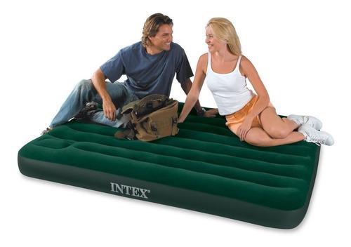 colchón inflable intex 2 plazas