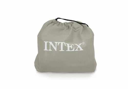 colchon inflable intex raised downy air mattress - queen