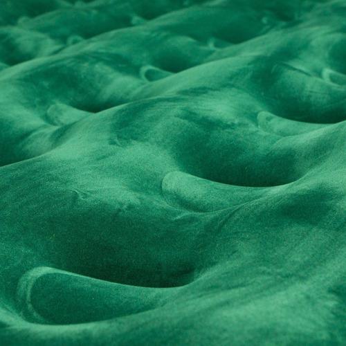 colchón inflable mirage doble inflador de pie verde doite