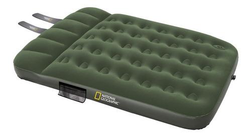 colchón inflable natgeo doble ocean 2 plazas con inflador