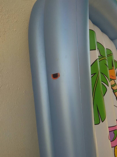 colchon inflable para niños looney tunes