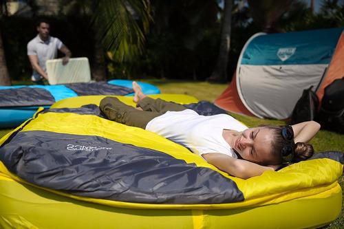 colchon inflable sobre dormir