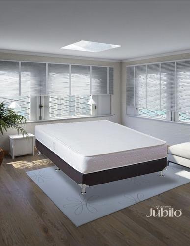 colchón júbilo económico doble 140x190 (semi firme)
