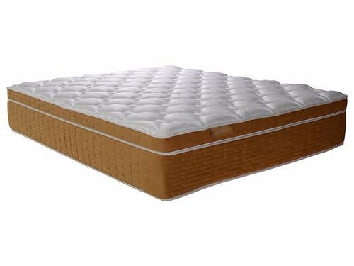 colchón king koil brighton 140 x 190 + 2 almohadas de regalo